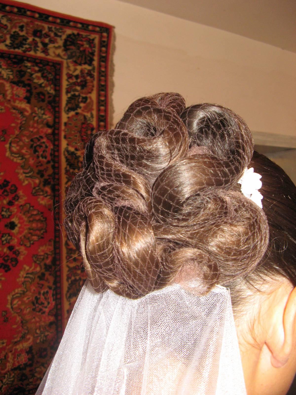 Как из волос сделать сеточку 746